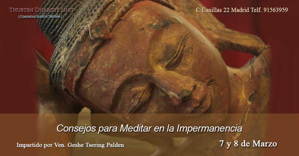 Consejos para Meditar en la Impermanencia - Thubten Dhargye Ling